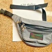 Vintage Hawaii Design Victor Sports Blue Fanny Pack Waist Bag Bum Belt Hip Pack- Photo