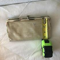 Vintage Hobo International Lauren Light Yellow Leather Clutch wallet.vintage Photo