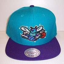 Vintage Hornets Snapback Hat by Mitchell & Ness Nwt  Photo