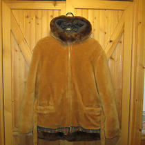 Vintage Hudson Bay Eskimo Hooded Winter Coat Size M-L Photo