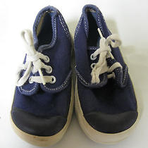 Vintage Jc Penney Canvas Sneakers Shoes Usa 1960's Toddler Size 5 Rare Blue Keds Photo