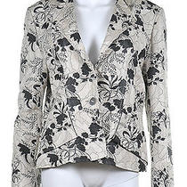 Vintage Jean Muir Brocade Silk Blend Jacket / Blush Black Photo