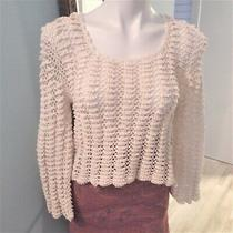 Vintage Jon Christy Crocheted Sweater Photo