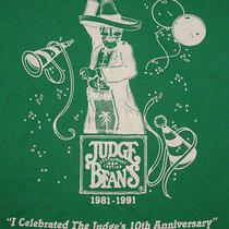 Vintage Judge Roy Beans Mexican Cantina Addison Texas Tx 50 / 50 T Shirt X Photo