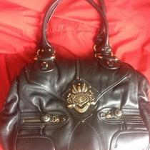 Vintage Juicy Couture Black Leather Purse Photo