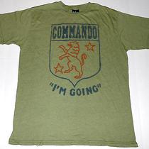 Vintage Junk Food Commando i'm Going T Shirt M Medium 50/50 Made in Usa Photo