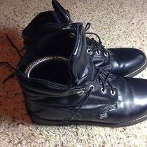 Vintage Justin Basics Comfort Boot Left Foot 9c Right Foot 8.5c. Black. Ked Photo