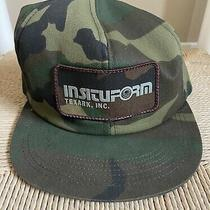 Vintage K Products Insituform Texarcana Trucker Hat Snapback Cap Camo Patch Photo