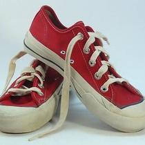 Vintage Keds Low Top Red Sneakers Mens Size 5.5 Photo