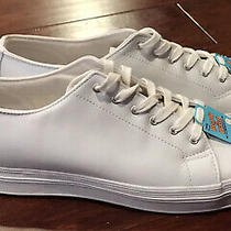 Vintage Keds Original Wh21441w Women's White Leather Casual Sneakers Sz 12 New Photo