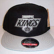 Vintage Kings Snapback Hat One Size by American Needle Black/gray Nwt  Photo