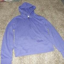 Vintage L Aeropostale Aero Half Zip Hoodie Hooded Pullover Sweatshirt Photo