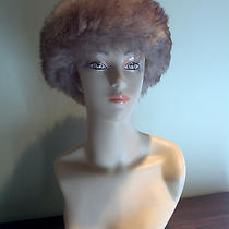 Vintage Ladies Leather and Tuscan Lamb Hat From Italy Photo