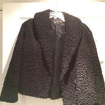 Vintage Lamb Fur Jacket - Black  Photo