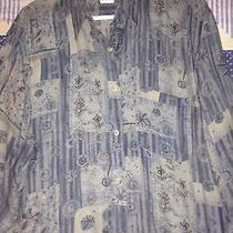 Vintage Lanvin Floral Shirt Photo