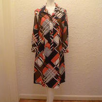 Vintage Lanvin Geometric 70s Day Dress Photo