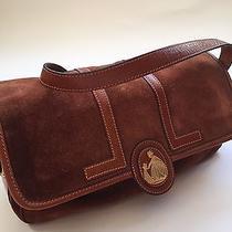 Vintage Lanvin Suede Bag Photo