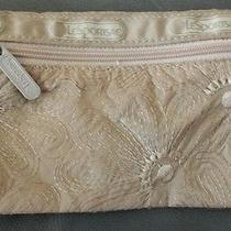 Vintage Le Sportsac Sport Sac Cosmetic Bag Pouch Tan Photo
