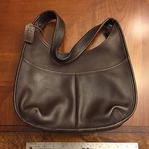 Vintage Leather Coach Purse  Photo