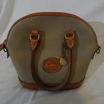 Vintage Leather Dooney & Bourke Designer Purse Tote Shoulder Bag Made in the Usa Photo