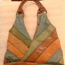 Vintage Leather Fossil Brand Purse Photo
