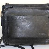 Vintage Leather Fossil Crossbody Photo