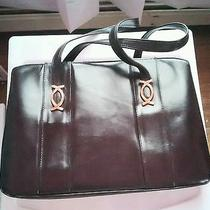 Vintage Leather Jackie O 60s Gucci Style Bag Photo