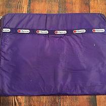 Vintage Lesportsac Laptop Sleeve Case Purple Bag Photo