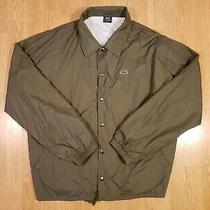 Vintage Letigre Windbreaker Coaches Jacket Big Tiger Logo Men's Size Xxl 2xl Photo