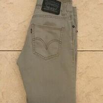 Vintage Levi's 510 Super Skinny Black Label Tan Jeans Size 29 X 32 (27x31) Photo