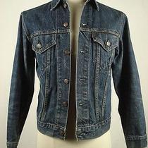 Vintage Levi's 70505-0217 Indigo Blue Denim Jean Jacket Size 38 7-177 Photo
