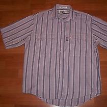 Vintage Levi's Big E Silver Label Short Sleeve Shirt - Men's Size- M Photo