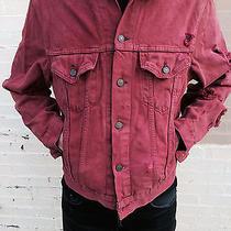 Vintage Levi's - Grunge 90s Denim Jacket - Pink - Small / Med Photo