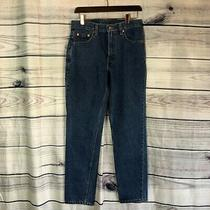 Vintage Levi's Women's Medium Wash Blue Jeans Size 28wx28l Photo