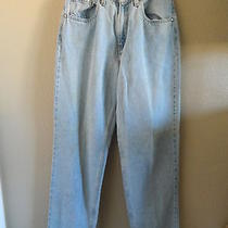 Vintage Levis Silvertab Womens Loose 7m Trashed Stained Distressed Grunge  Photo