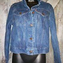Vintage Levis Womens Blue Denim Trucker Jean Jacket  Rare 760001-0214  Htf New Photo
