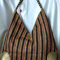 Vintage Look Multi-Color Tweed Shoulder Bag/hobo/sling Photo