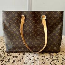 Vintage Louis Vuitton Lv Luco Shoulder Tote Hand Bag Purse Monogram Photo