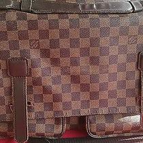 Vintage Louis Vuitton Monogram Briefcase/ Portfolio/ Computer Bag 3 Compartments Photo