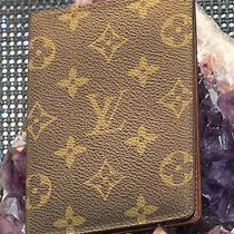 Vintage Louis Vuitton Passport Cover Photo