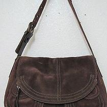 Vintage Lucky Brand Stash Brown Suede Euc Photo