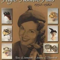 Vintage Luxury Brands Fashion Hats 1950-80 Collector Guide Christian Dior Others Photo