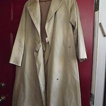 Vintage Mans Burberrys'  Trench Coat With Removable Lining  Photo
