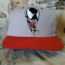 Vintage Marvel Venom Blockhead Snapback American Needle 1993 Hat Cap Script  Photo