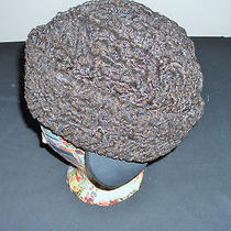 Vintage Men's Lamb's Wool Hat Sz Med Photo