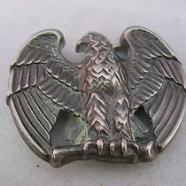 Vintage Mens Belt Buckle Eagle Bird by Avon Photo