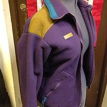 Vintage Mens Columbia Radial Sleeve Fleece Size Small Purple Oak Photo