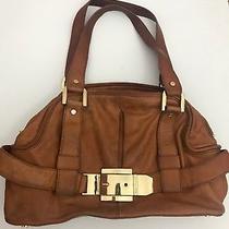 Vintage Michael Kors Leather Grab Bag Shoulder Hobo Satchel Tote Purse Handbag Photo