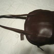 Vintage (Mid to Late '70's) Coach Purse Bag Brown Leather Nice Photo