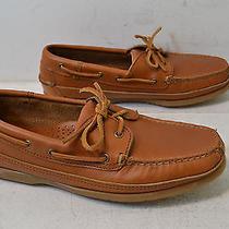 Vintage Minnetonka Moccasins Light  Brown Leather Moccasins Womens Size 9 Nwob Photo